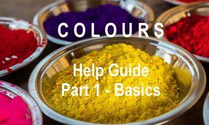 Ikonografik Design - Colours Help Guide - Part 1 - Basics