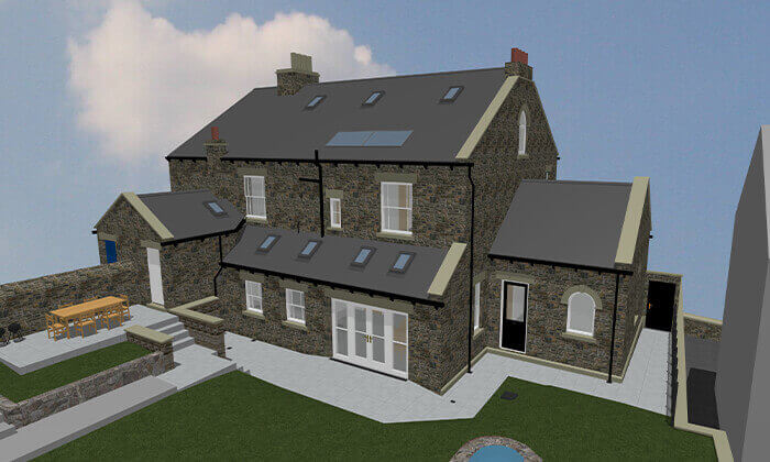 Modernising an old house in a conservation area