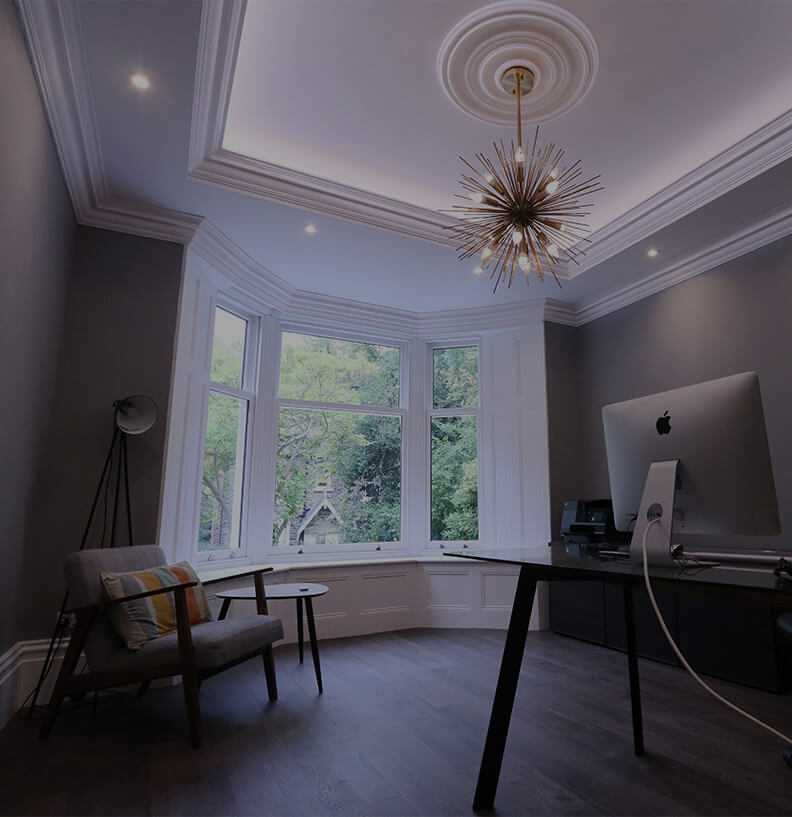 Let us work with you to creatively re-imagine your home or workplace