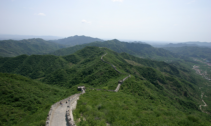 Why are wonky steps on the Great Wall of China ?